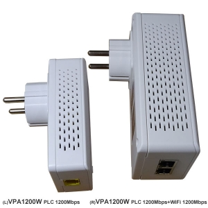 HomePlug AV2 1200Mbps + 802.11ac Dual Band Wireless 1200Mbps Powerline Bridge VPA1201W